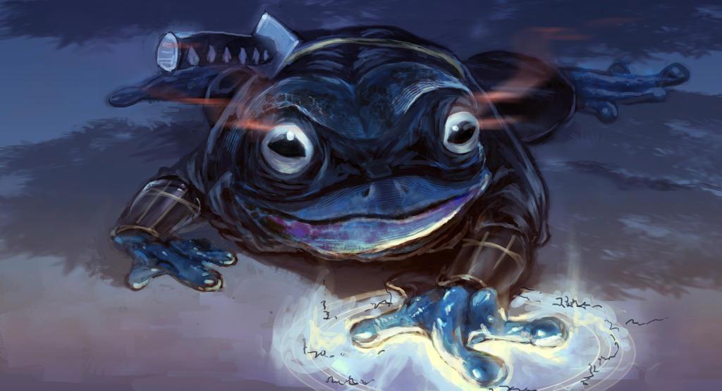 Ninja Frog By Gvc060905 On Deviantart
