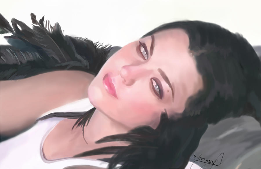 Amy Lee Broken Portrait by Mazrak18