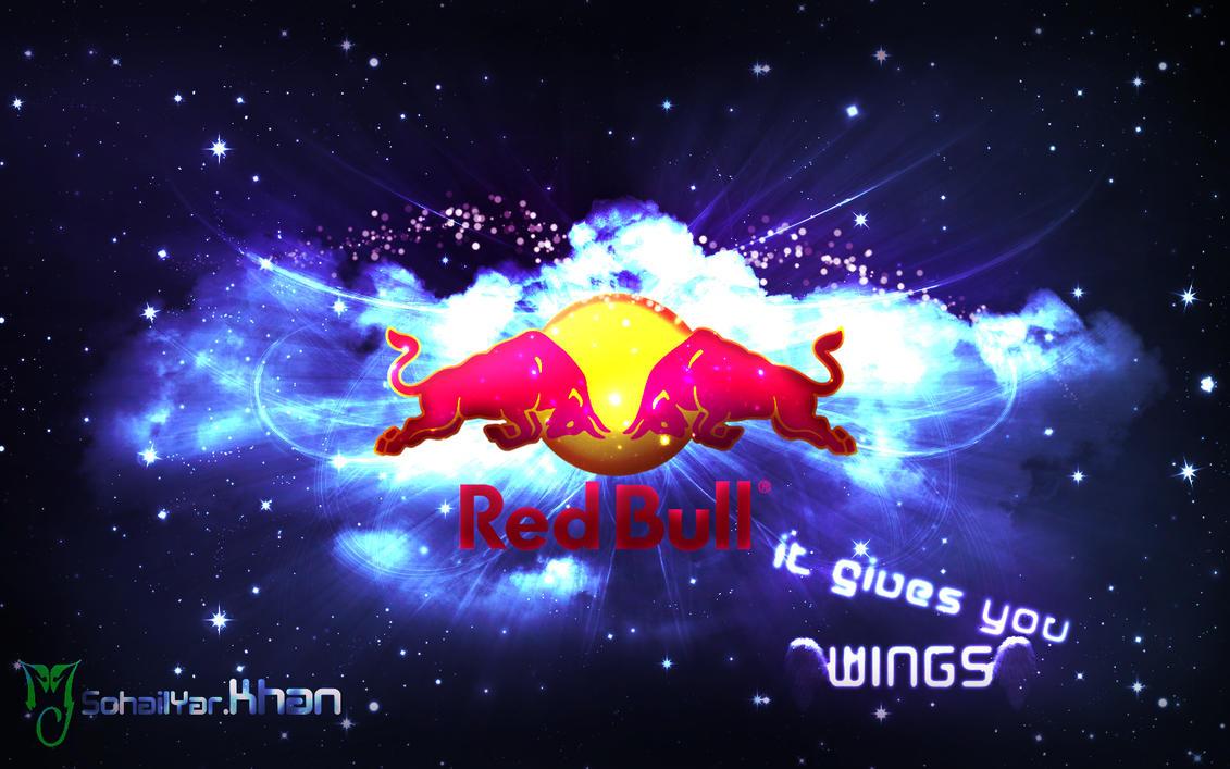 Red bull by sohailykhan94 on deviantart for Fon decran swag