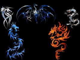 dragon by deckacent