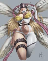 Angewomon | Personal fanart by javiermtz