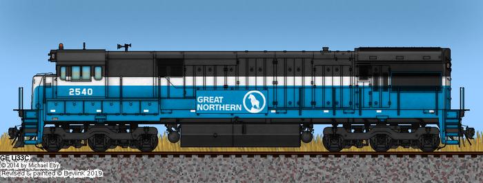 GN U33C No. 2540 by BeviinK