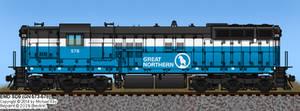 GN SD9 No. 576