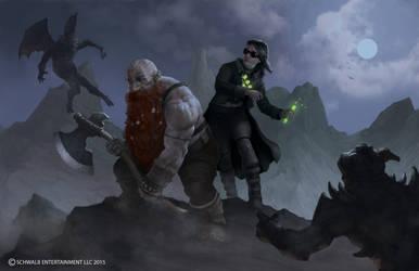 Shadow of the Demonlord Interior Illustration