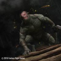 Mordor Orc by GammaGrey