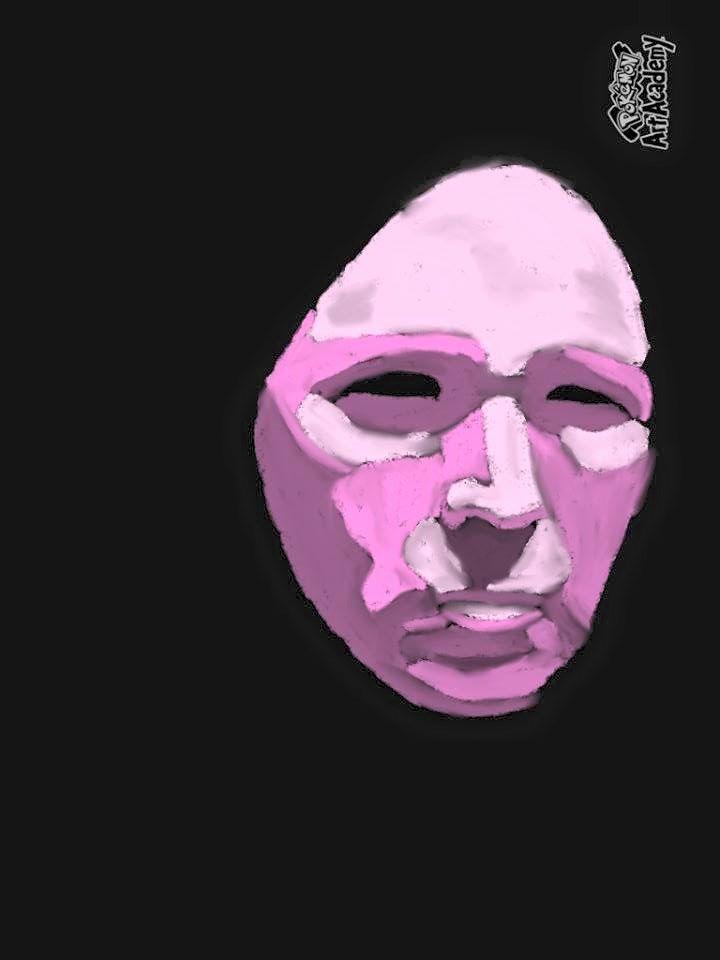 Lavender Mask by Elizabethjunean
