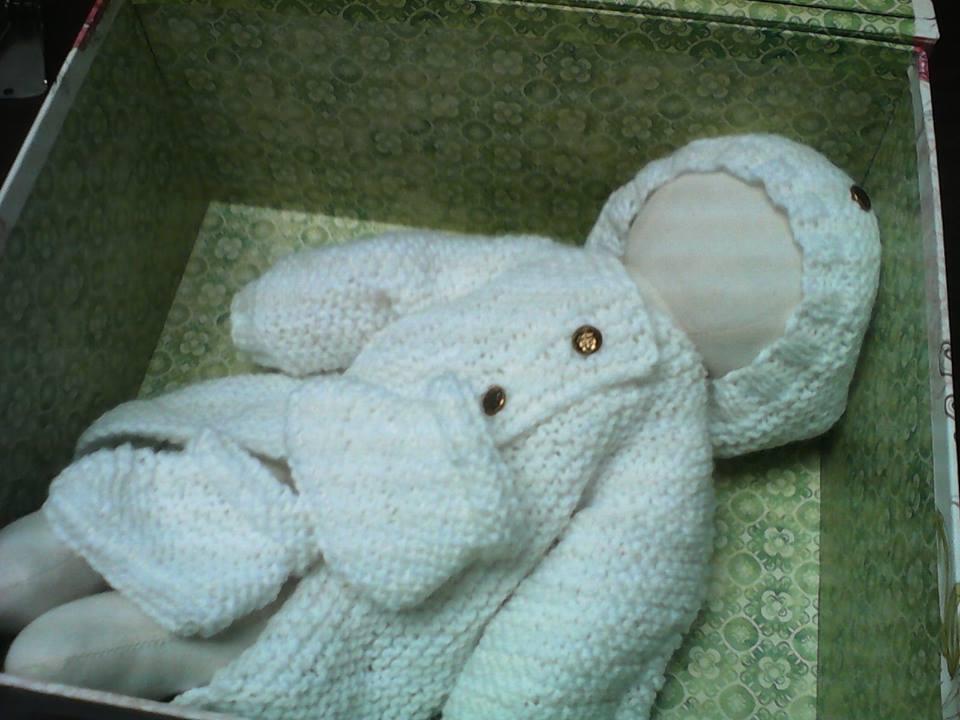 Garter Stitch Baby Layette by Elizabethjunean