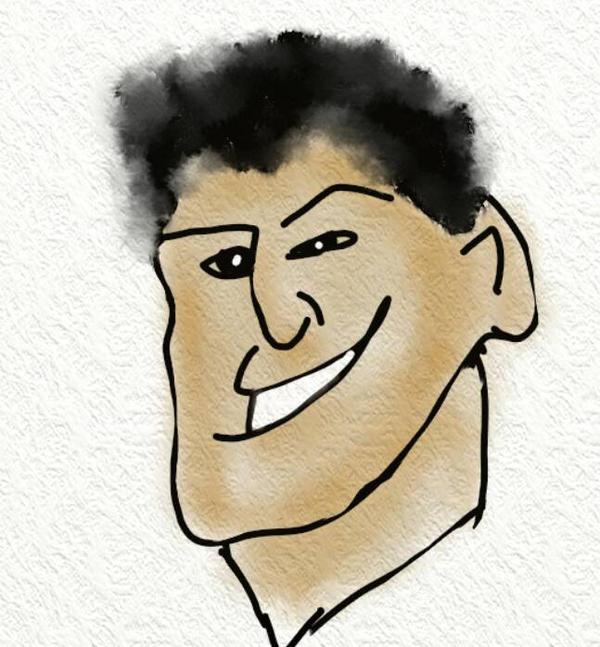 Cartoon Fred by Elizabethjunean