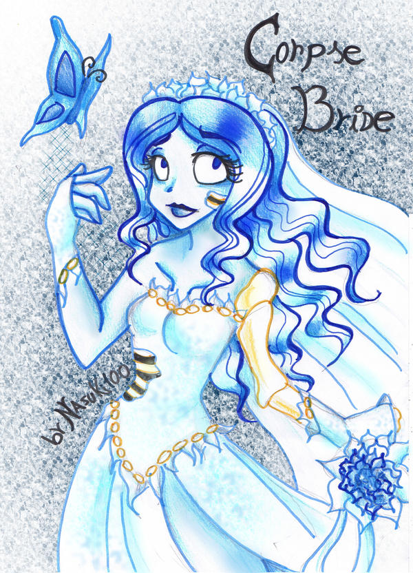 corpse bride by Nasuki100
