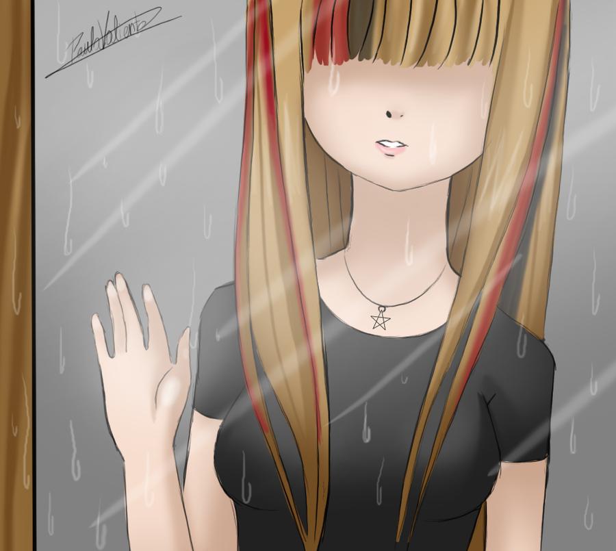 Rain in the windows by Nasuki100