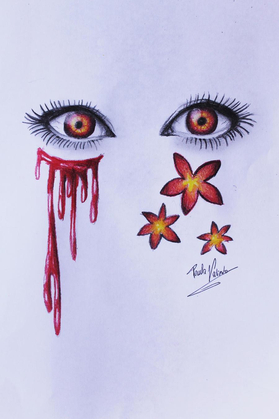 Red eyes by Nasuki100