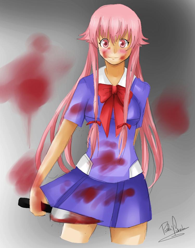 Gasai Yuno by Nasuki100
