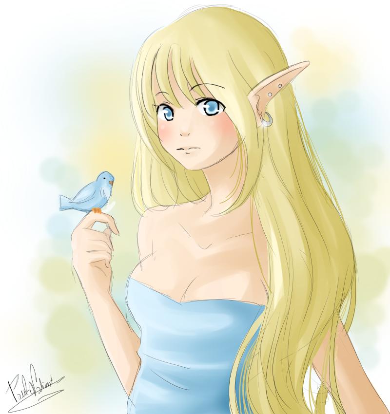Elf by Nasuki100