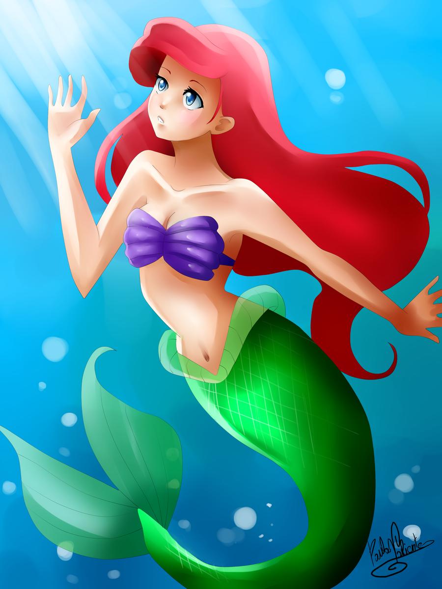 Ariel by Nasuki100