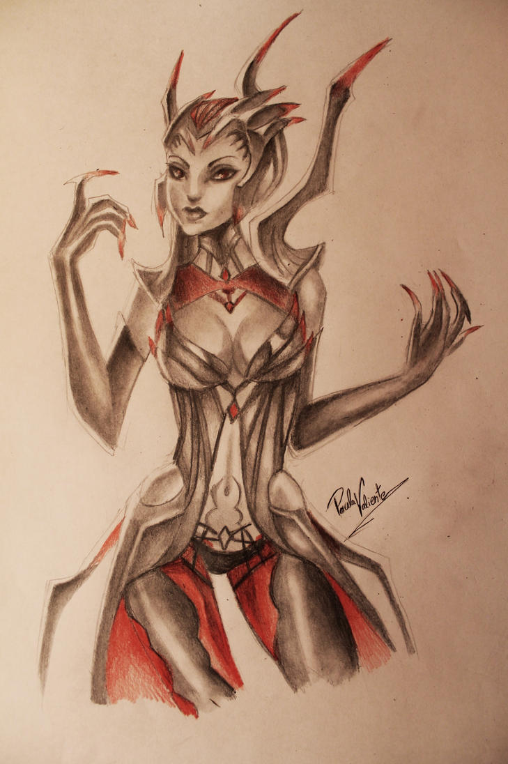 Elise the Spider Queen by Nasuki100