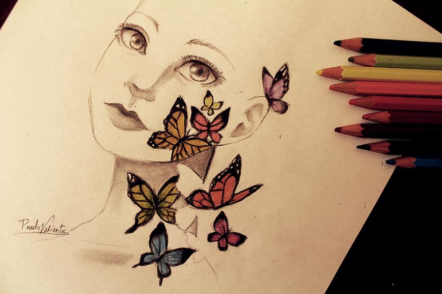 Butterflies in the skin by Nasuki100