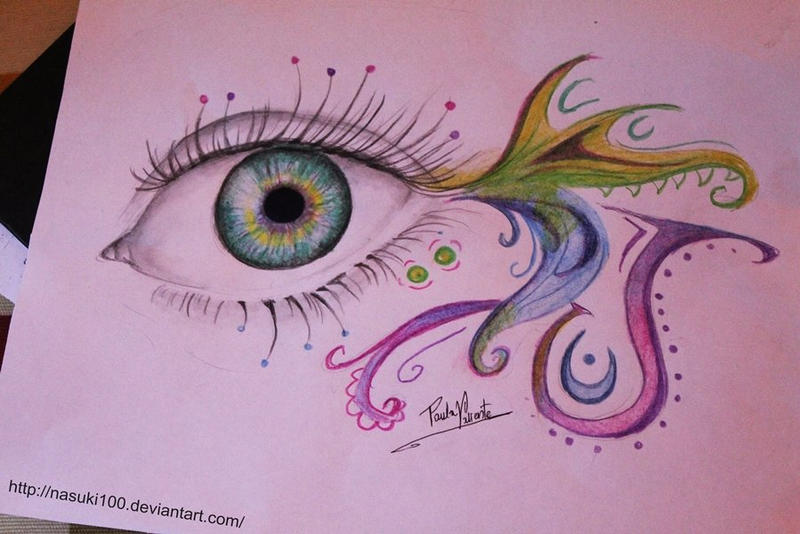 colorful eye by Nasuki100