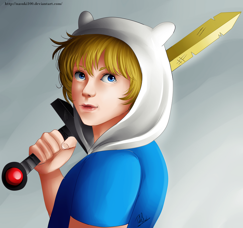 Finn the human by Nasuki100