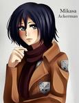 Mikasa Ackerman - speedpaint