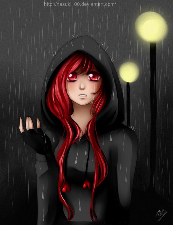 Rainy night by Nasuki100
