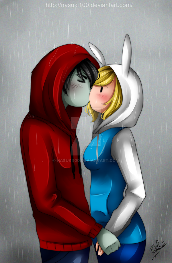 hooded kiss - Fiolee by Nasuki100