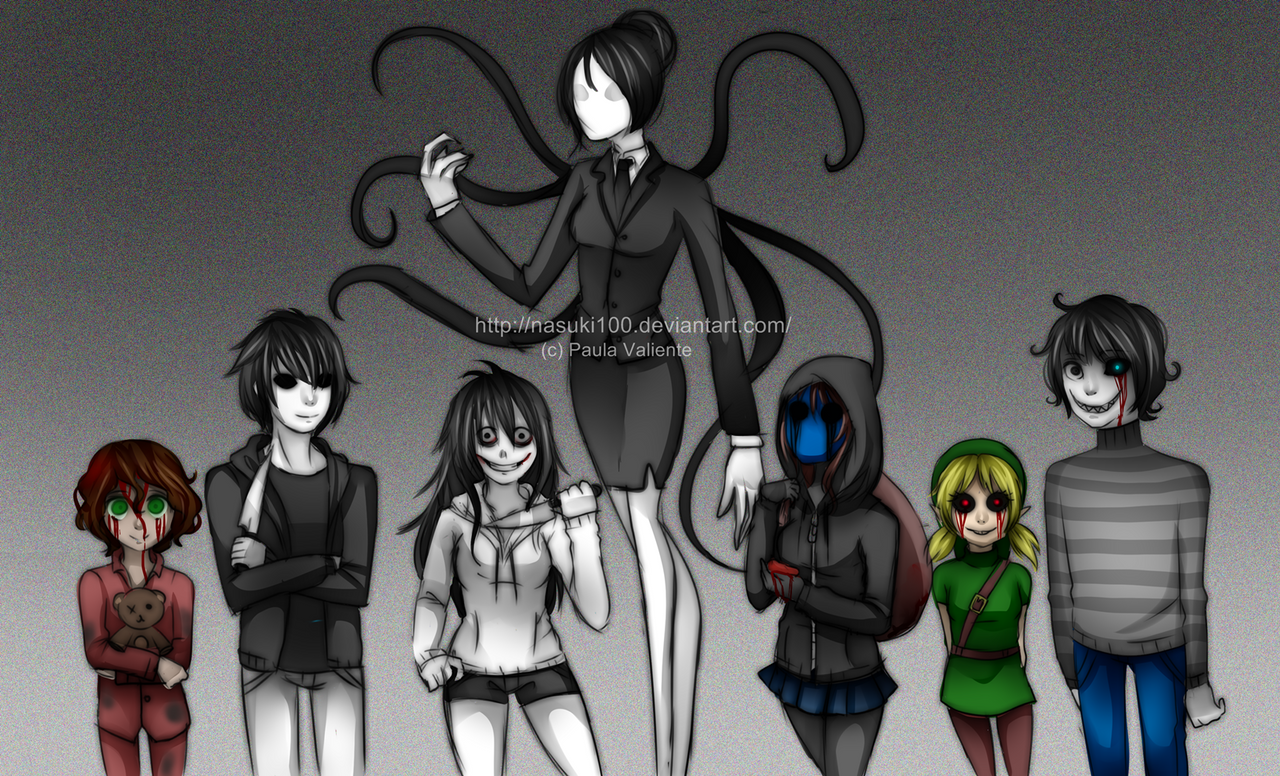 CreepyPasta genderbender by Nasuki100