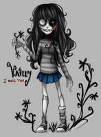 Vailly - Tim Burton style by Nasuki100