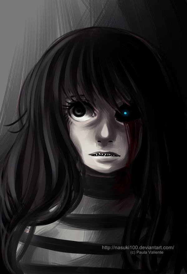 Creepypasta OC - In the dark by Nasuki100