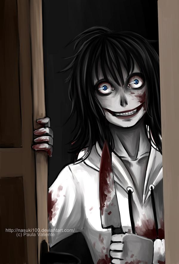 Jeff the killer has come by Nasuki100