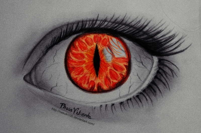 The Gallery For --u0026gt; Red Eyes Drawing