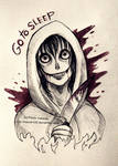 Jeff the killer - ballpoint pen