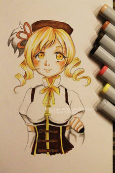 Mami Tomoe - Copic markers