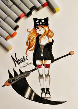 Nasuki Brave - copic markers