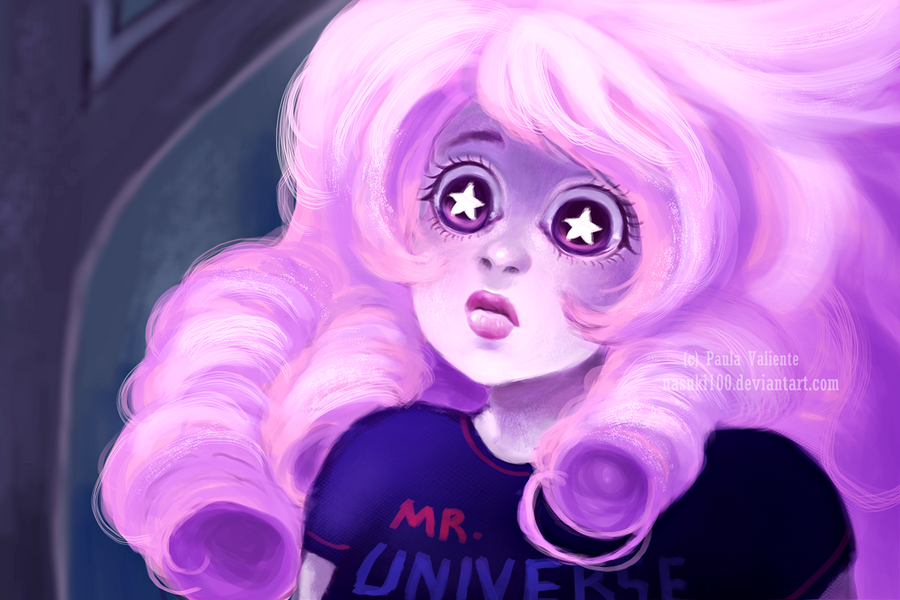 "I love the episode ""Story for Steven"" <3 drawing made with photoshop cs3 Art (c)   Rose Quartz (c)  Rebecca Sugar  DO NOT STEAL OR RECOLOR MY ART. NO ROBAR O RECOLOREAR ..."