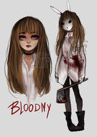 Bloodny - Original Character by Nasuki100