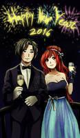 Happy New Year  2016 by Nasuki100