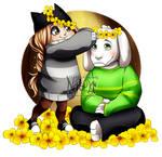Nasuki and Asriel