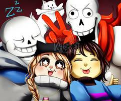 Group selfie by Nasuki100