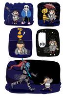 Nasuki in Undertale sketches 2 by Nasuki100