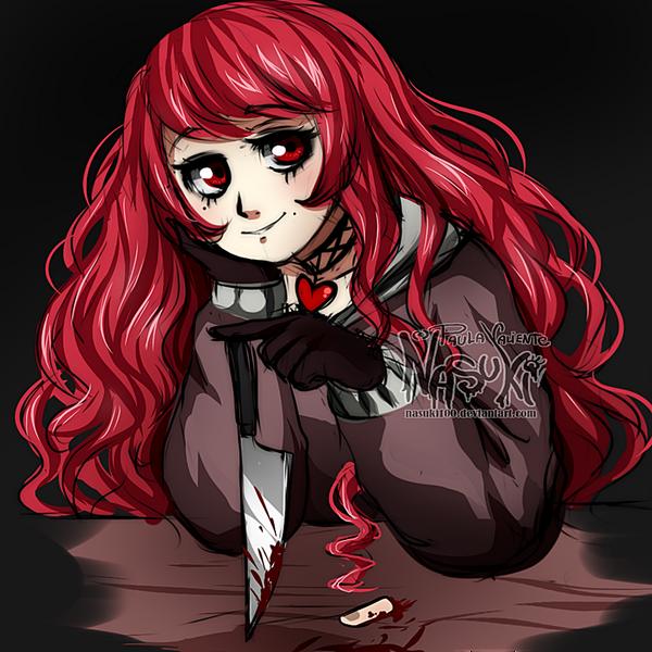 Cherry sketch by Nasuki100