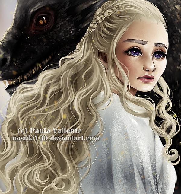 Daenerys Targaryen by Nasuki100
