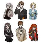 Sketches - Mystic Messenger Genderbender