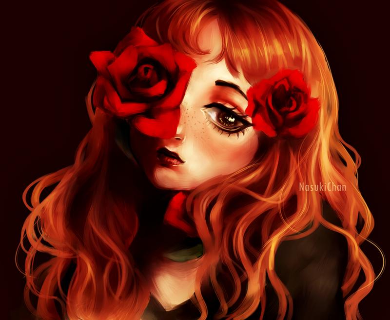 Roses by Nasuki100