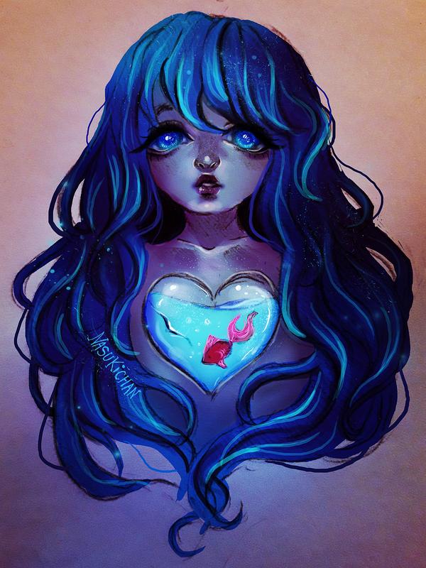 Crystal Heart by Nasuki100