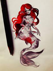 Koi Mermaid by Nasuki100