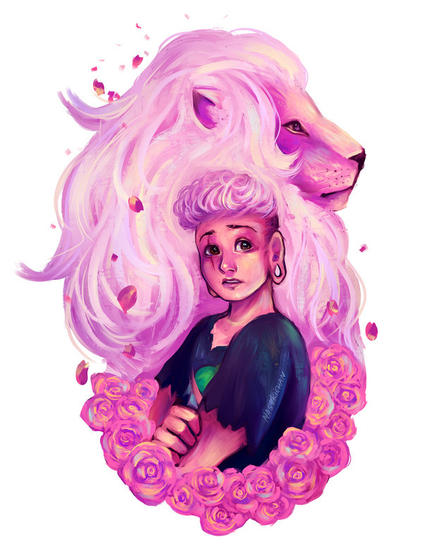 Pink Lars And Lion By Nasuki100 On Deviantart