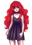 Cherry in dress