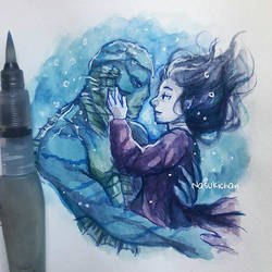 The Shape Of Water by Nasuki100