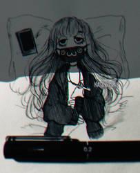Doing nothing by Nasuki100