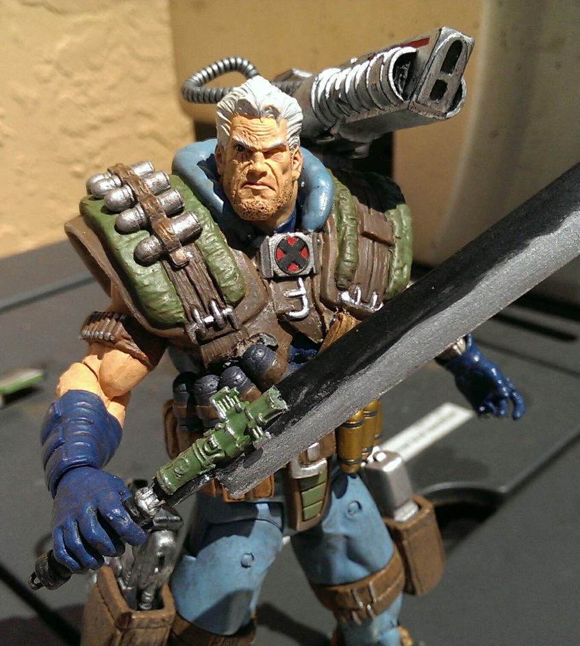 Cable weapons custom by squatsatch